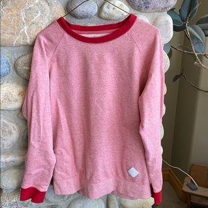 BURTON red mix sweatshirt